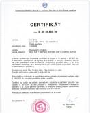 Certifikát B-30-00488-09